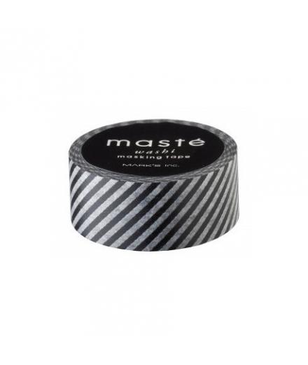 Masking Tape Black Stripes - masté