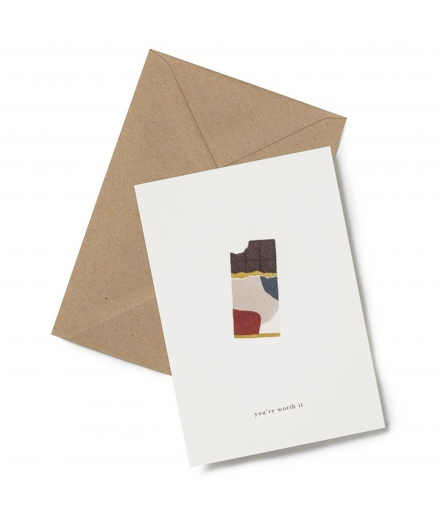 Carte Double Chocolat - KARTOTEK