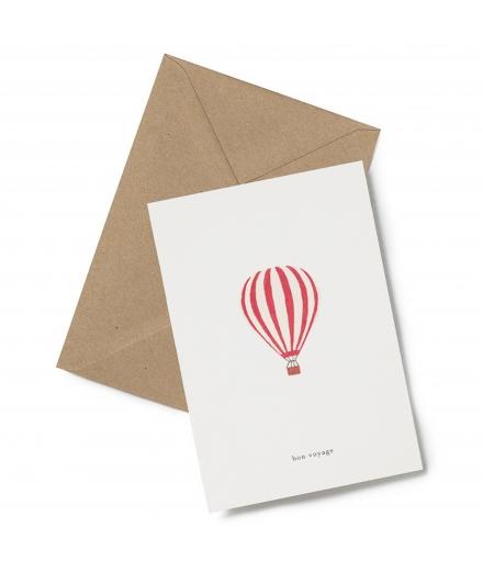 Carte Double Bon Voyage - KARTOTEK