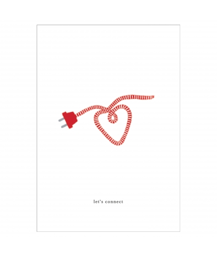 Carte Double Coeur - KARTOTEK
