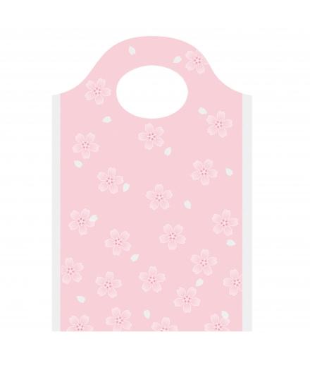 Sacs Cadeaux Transparents Sakura x10 - INDIGO