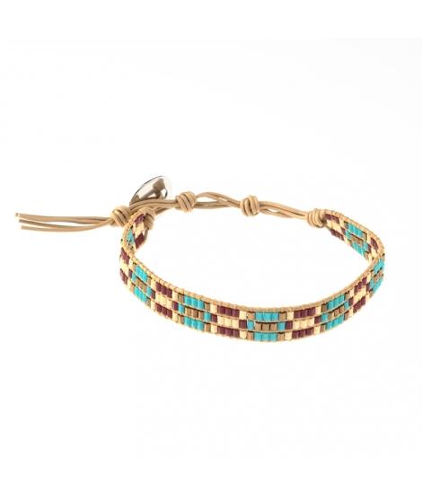Bracelet En Perles De Verre B-Collection - MATSUNO