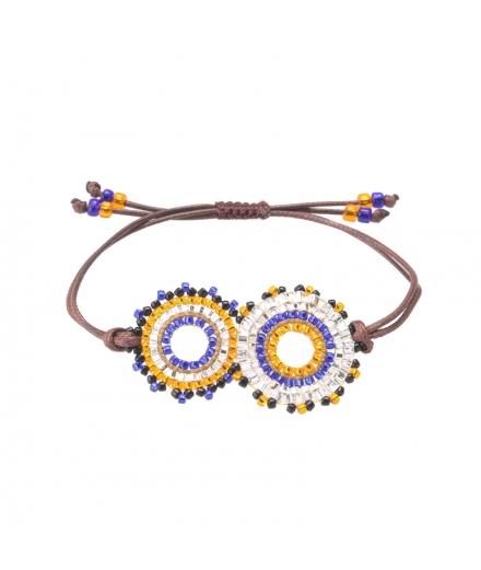 Bracelet En Perles De Verre Treasure - MATSUNO