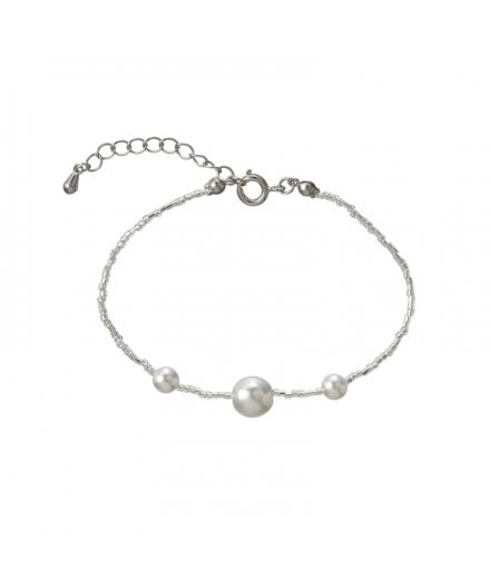Bracelet En Perles De Verre Noble - MATSUNO