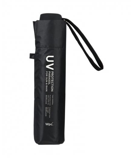 Parapluie Anti-UV 99% Noir - WPC