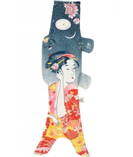 Koinobori Tatoo Geisha 70cm - MADAME MO