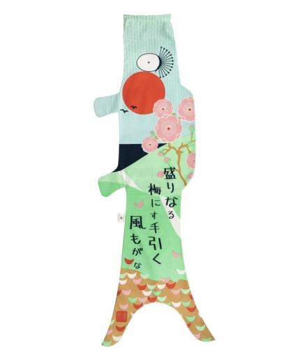 Koinobori Haiku Prunier 100cm - MADAME MO