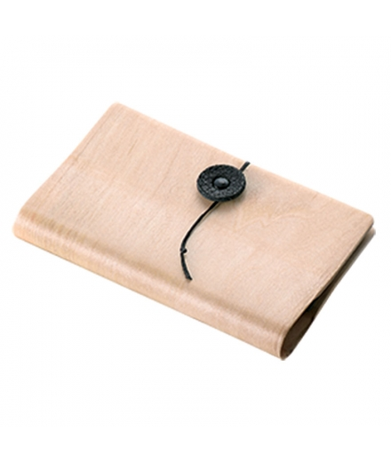 Porte-cartes vertical en bois Naturel - SUTRIO