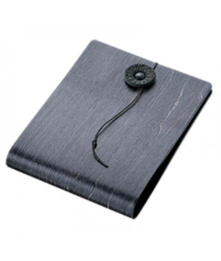 Porte-cartes horizontal en bois Noir - STORIO