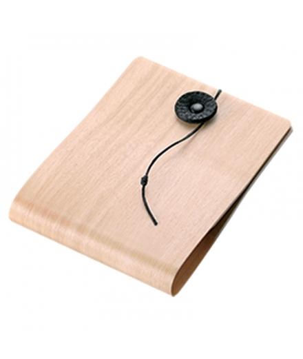 Porte-cartes horizontal en bois Naturel - STORIO
