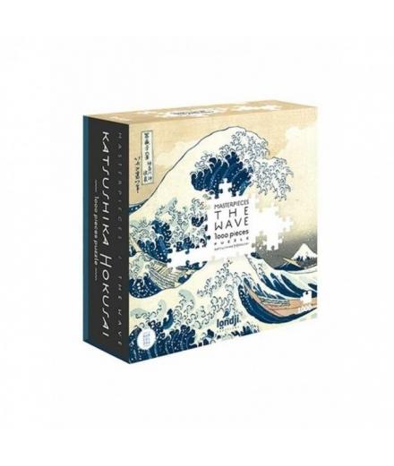 Puzzle La Vague Hokusai 600 Pièces - LONDJI