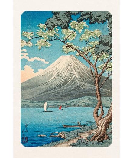 Carte Postale Lac Yamanaka 10x15cm - Editions Jourdenuit