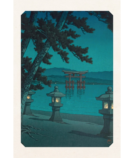 Carte Postale Miyajima 10x15cm - Editions Jourdenuit