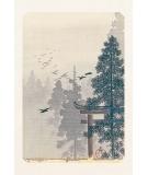 Carte Postale Torii 10x15cm - Editions Jourdenuit