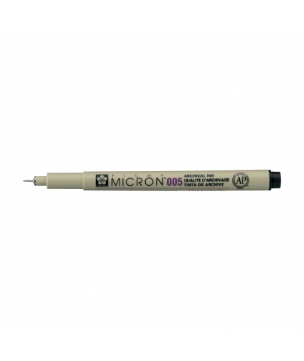 Pigma Micron 005 0.20mm Noir - SAKURA