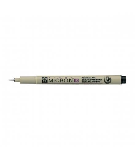 Pigma Micron 03 0.35mm Noir - SAKURA