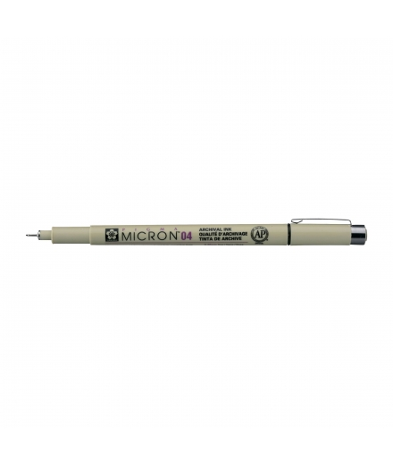 Pigma Micron 04 0.40mm Noir - SAKURA