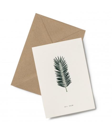 Carte Double Palmier - KARTOTEK