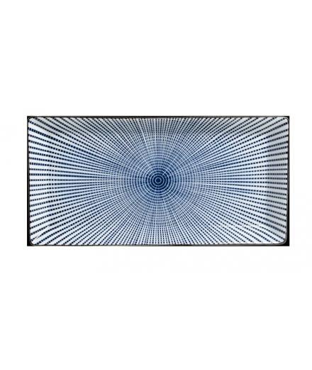 Plat Rectangulaire Sendan Tokusa 23cm / TOKYO DESIGN STUDIO