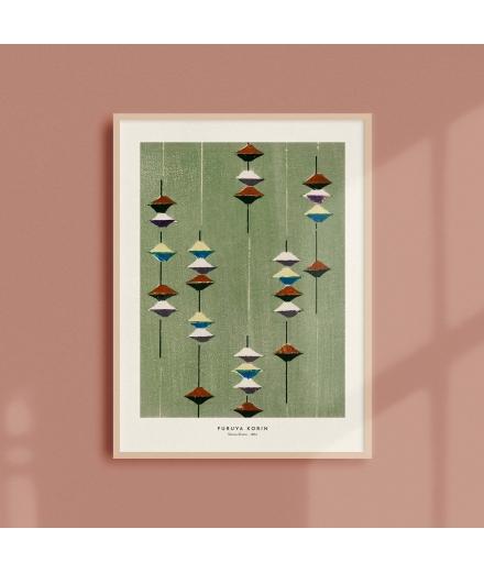 Affiche Japonaise Shima Shima 30x40CM / Atelier Bigarade