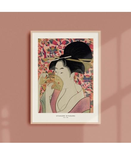 Affiche Estampe Kishu Umataro Kitagawa / Atelier Bigarade