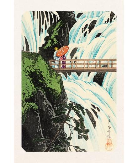 Carte Postale Chute D'Eau Shiragumo De Nikko 10x15cm - Editions Jourdenuit