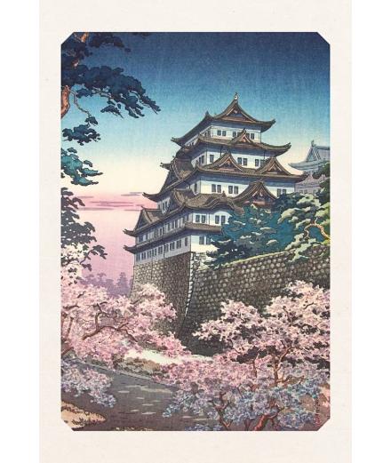 Carte Postale Château de Nagoya 10x15cm - Editions Jourdenuit