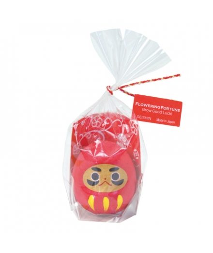 Porte bonheur Daruma rouge