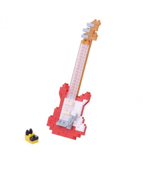 nanoblock® - Guitare Electrique Rouge