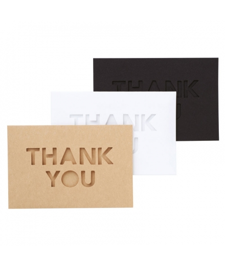 Cartes Thank You à personnaliser - WITH MASTE