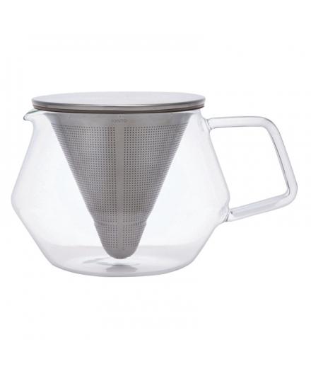 Théière en verre Carat 600ml - KINTO