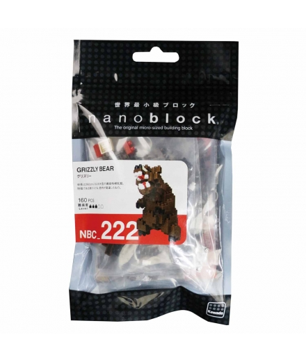 nanoblock® - Ours Grizzly